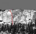 Phobos-Deimos Cliff - Blues Riff 5.11b - Tuolumne Meadows, California USA. Click for details.