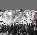 Phobos-Deimos Cliff - Deimos 5.9 - Tuolumne Meadows, California USA. Click for details.