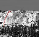 Phobos-Deimos Cliff - Phobos 5.9 - Tuolumne Meadows, California USA. Click for details.
