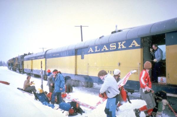 Milepost 249, Alaska Railroad