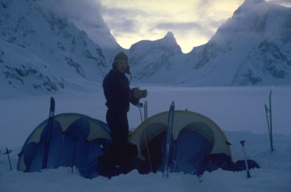 Camp 6, 5400' below The Moose's Tooth