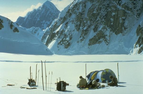 Camp below Ruth Gap