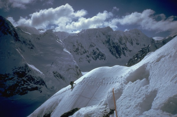 On the ridge!